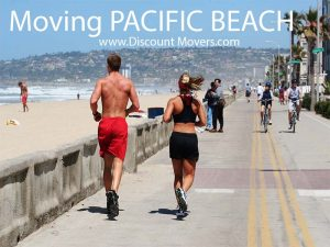 Pacific Beach is a San Diego walkable community and ideal for single people.